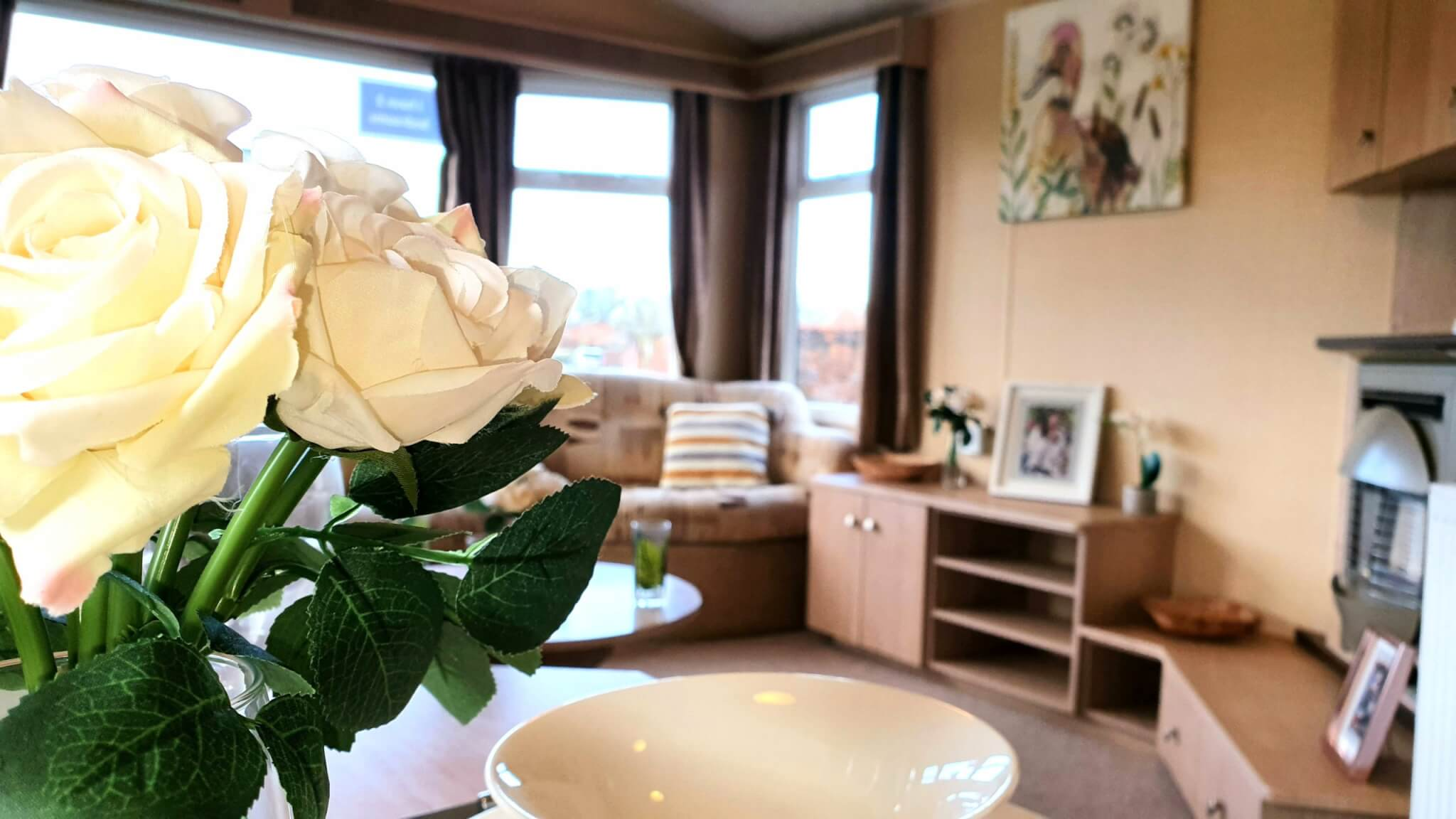 Willerby Westmoreland pre loved static holiday home on Burton Constable Holiday Park
