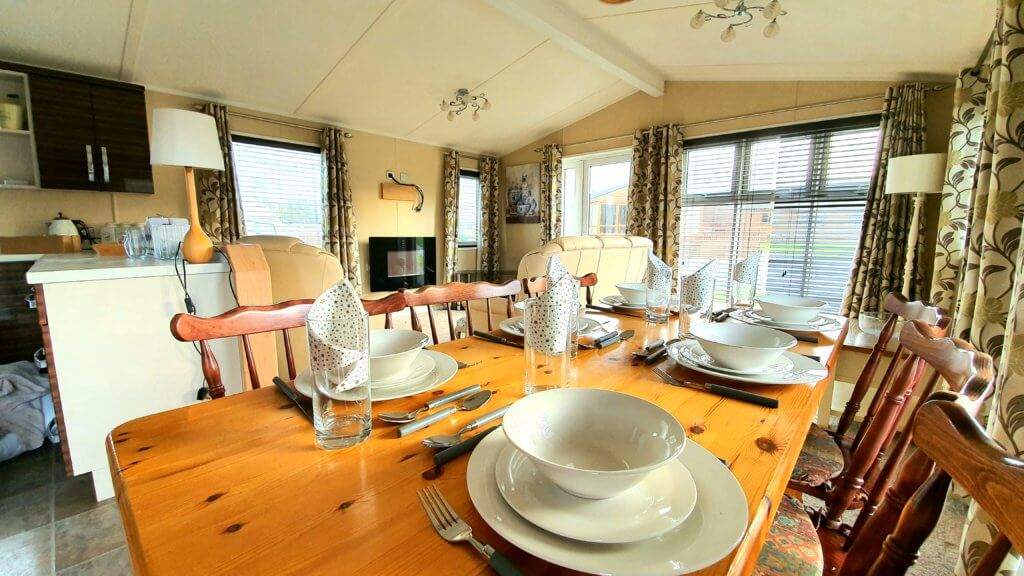 Victory versailles pre loved static caravan on Burton Constable Holiday Park