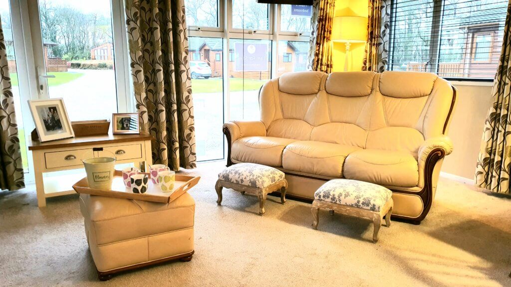 Victory Versailles pre-loved static caravan on 5 star Burton Constable Holiday Park