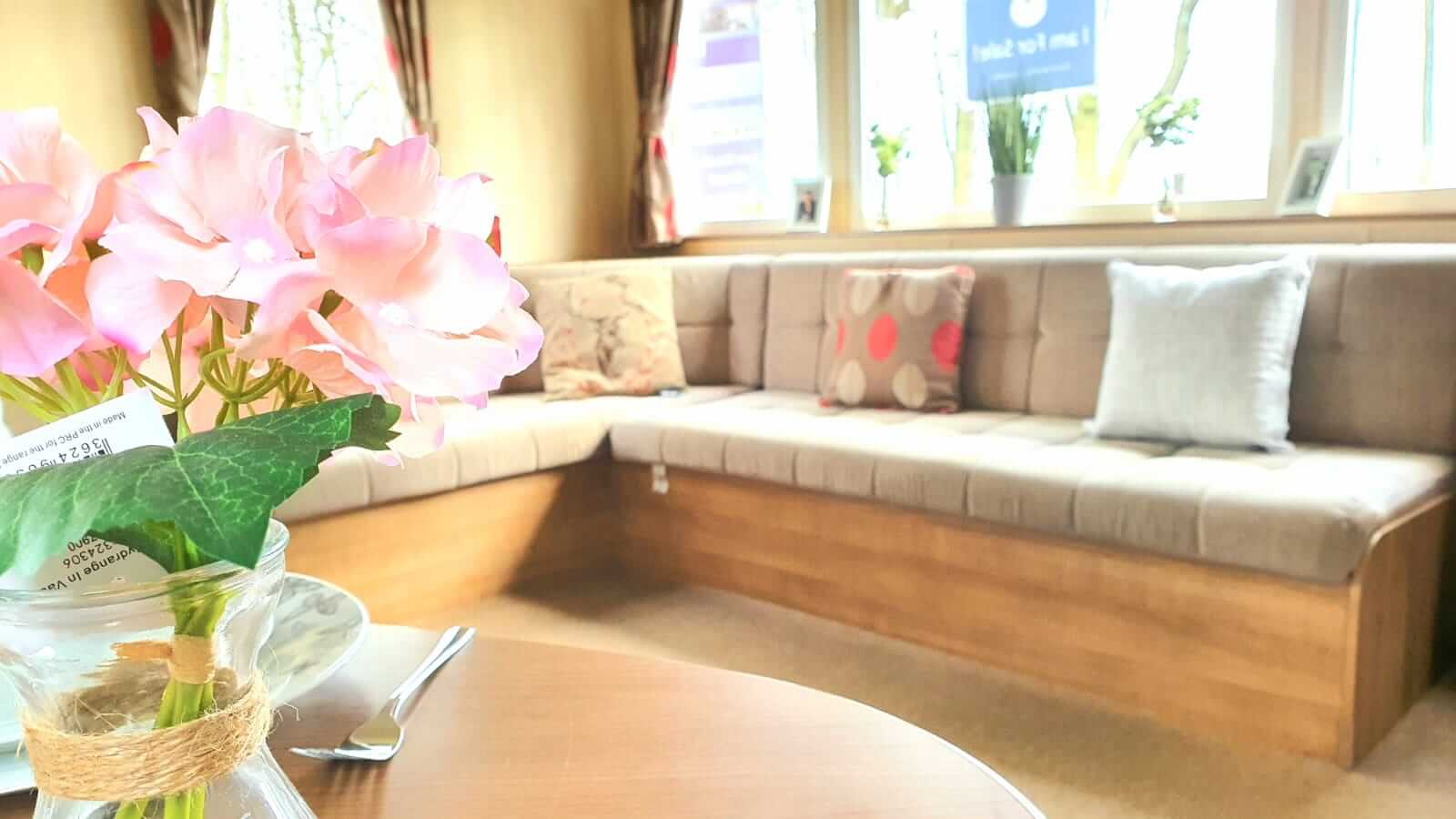 ABI Horizon pre-loved 3 bed static caravan on Burton Constable Holiday Park for sale